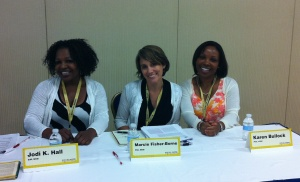 Jodi Hall, Marcie Fisher-Borne, Karen Bullock of North Carolina State University